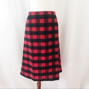 Old Navy Plus Size Buffalo Check Plaid Skirt